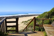 Beach Music, Jeffreys Bay, Stairs to Beach